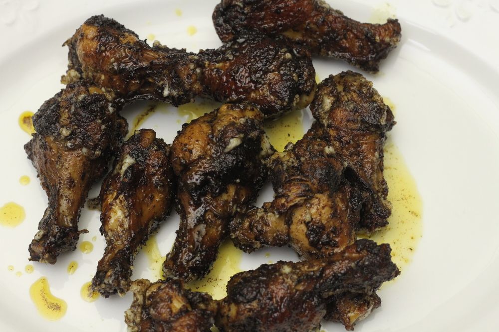 Garlic Chicken Wings Made Simple