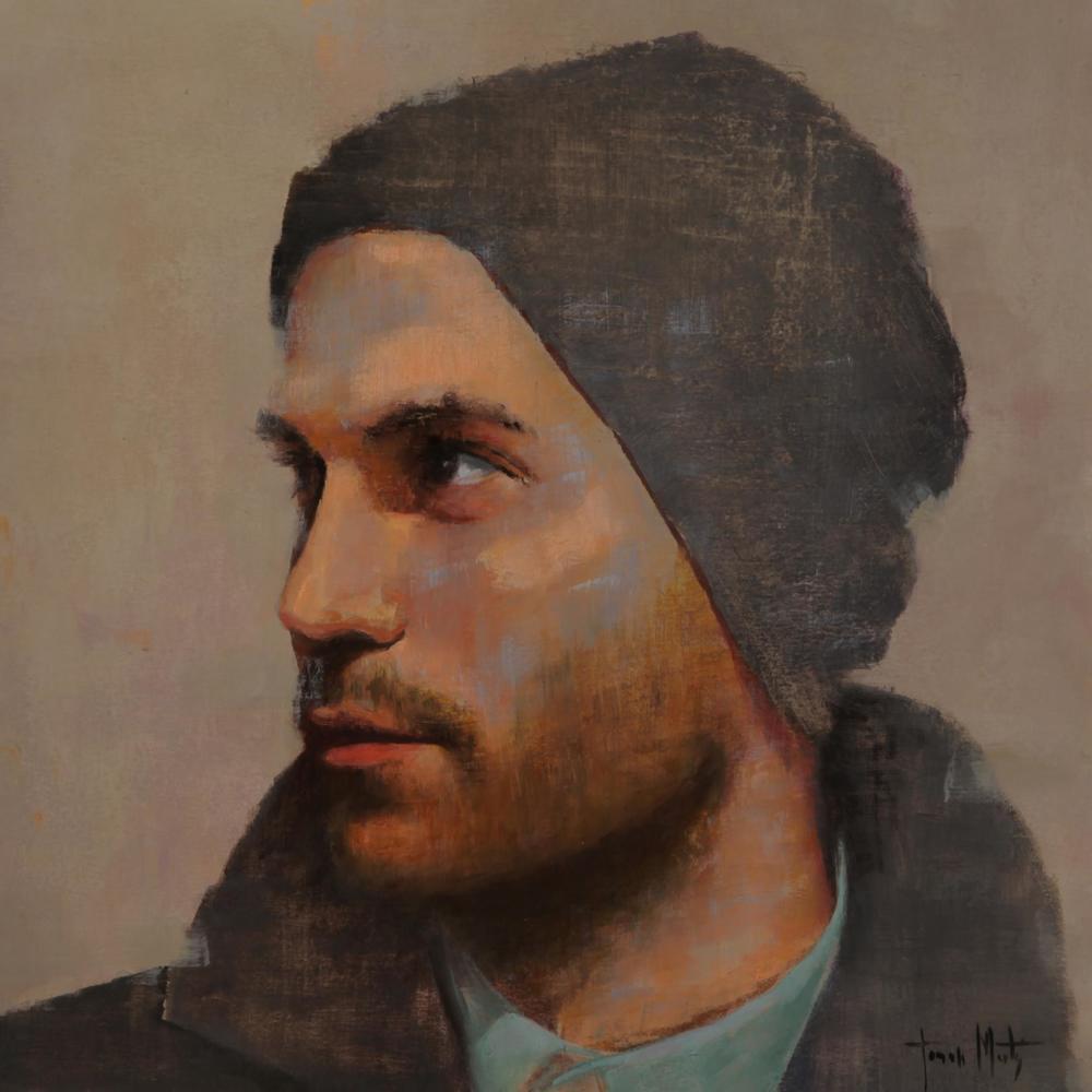 Painting, ''PAU'', Acrilic/Oil/Paper  Artist: Tomasa Martin