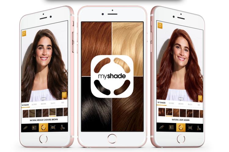 download myshade, clairol\'s virtual hair color APP-licator — silvana ...