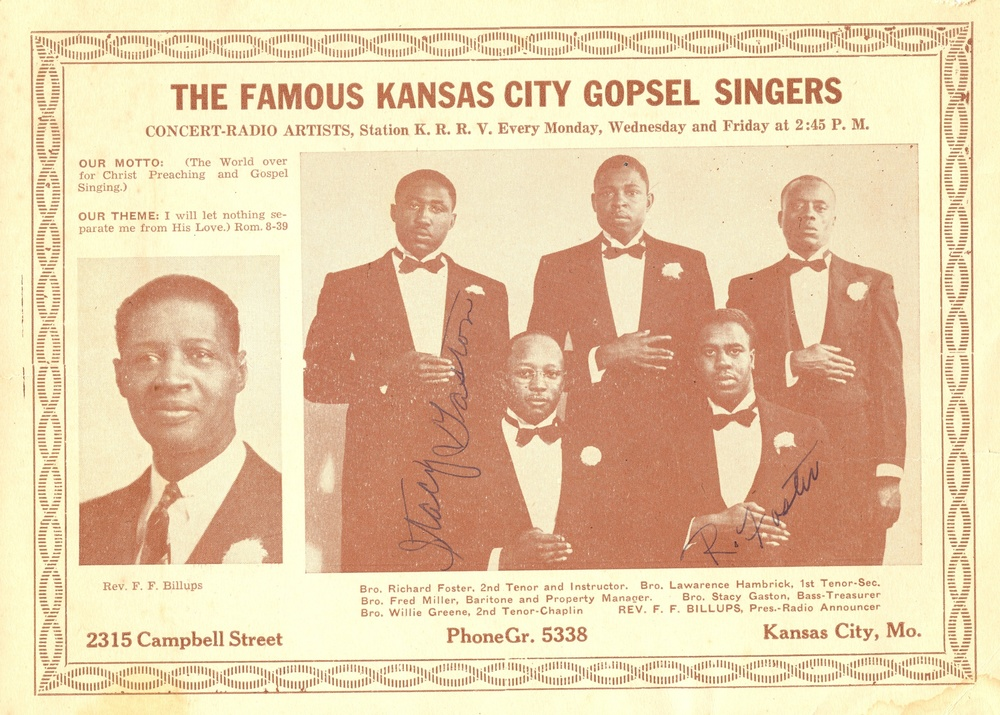 Kansas City Gospel music