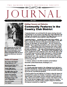 This is the latest edition of Jackson County Historical Society Journal which can be downloaded for FREE