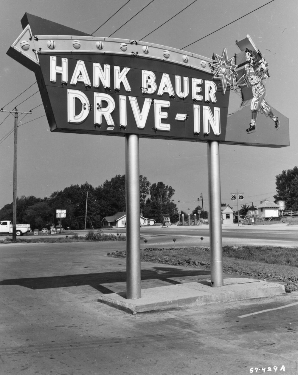 Wilborn Collection     Hank Bauer Drive In 1957 7515 W. 63rd Street.jpg