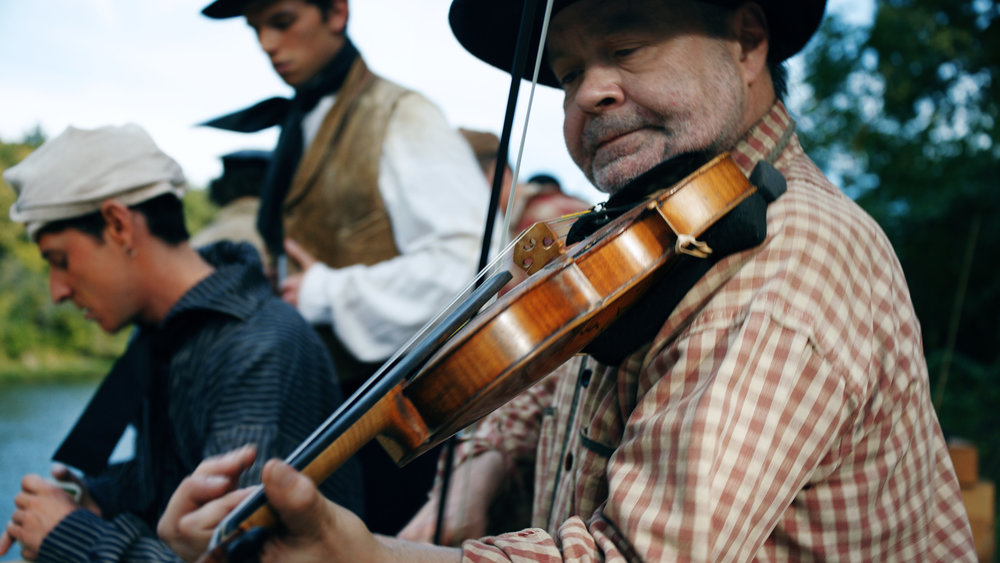 Mengel's music was included in a  documentary film  about George Caleb Bingham produced by Wide Awake Films