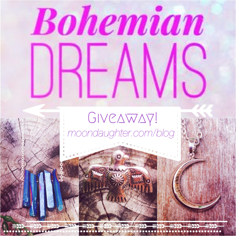 bohemian dreams giveaway @ moondaughter