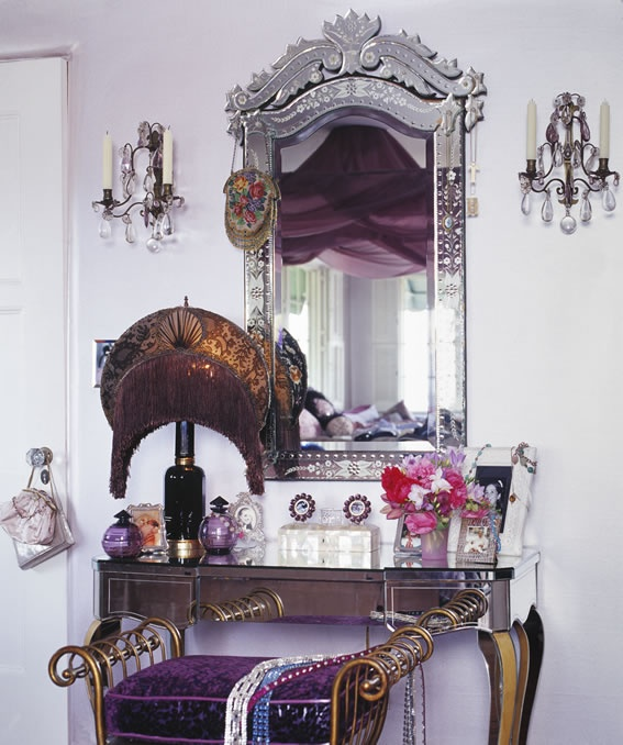 That lamp! Vanity Inspiration