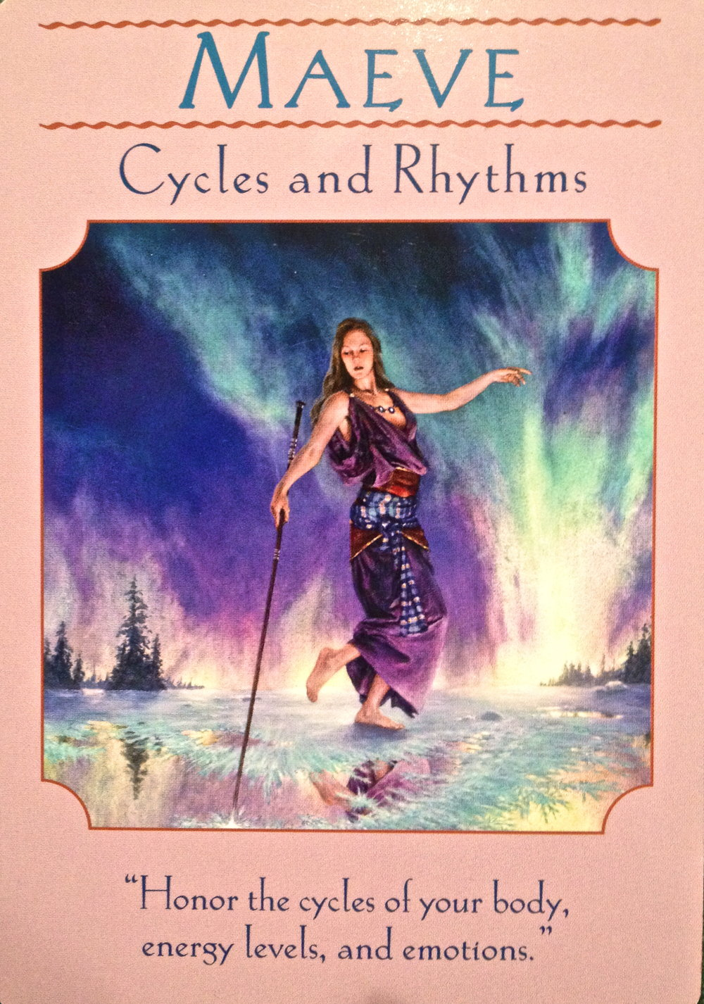 Goddess Oracle Deck by Doreen Virtue