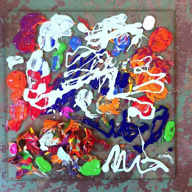 Palette #2 #ofthetrade #art #painting