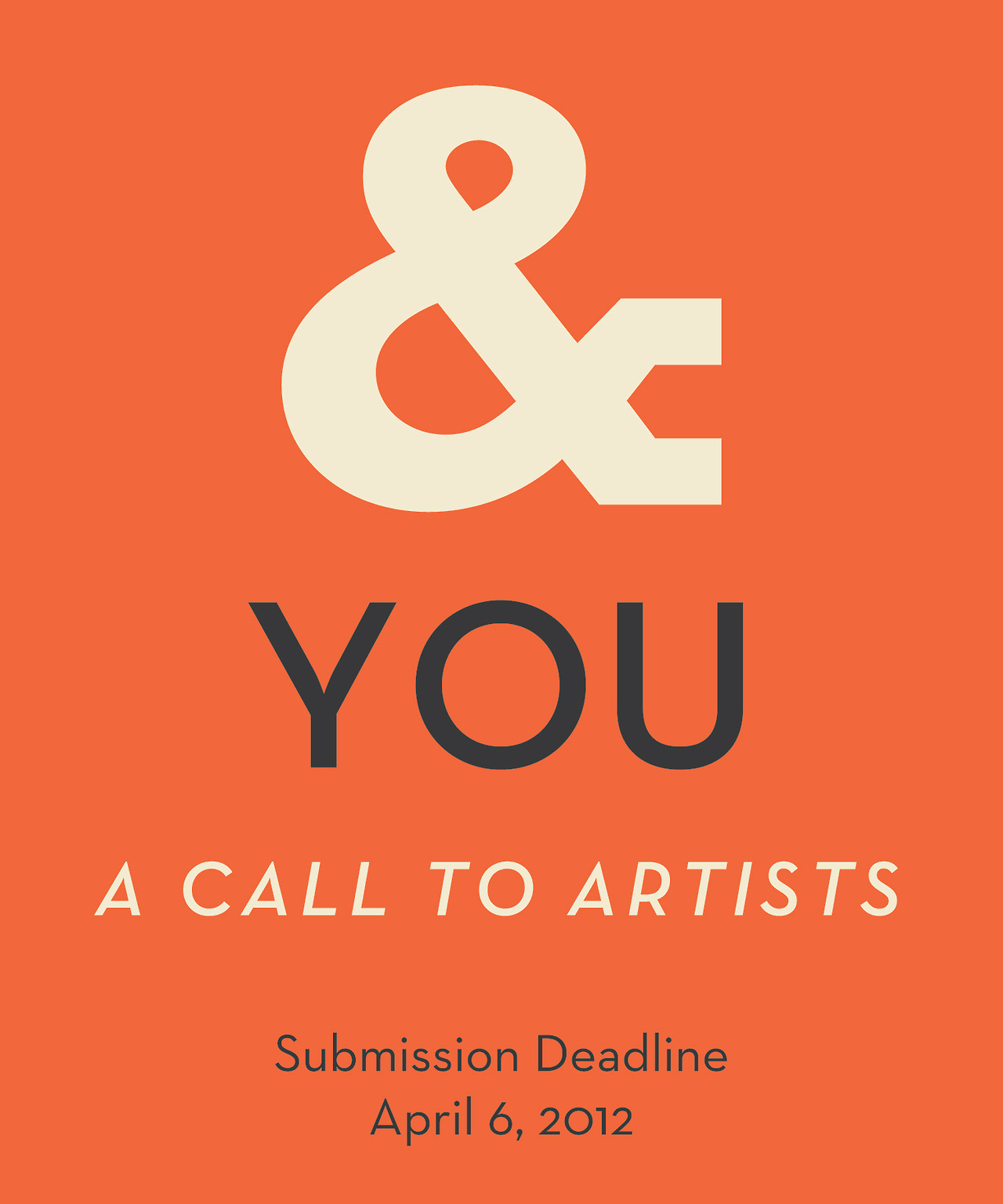 We've put out our call to artists for the Studio & annual group show - check it out! studioand: Call to artists for the 2013 Group show at Studio & Studio &, in Durango, Colorado is seeking artists for it's fourth annual six-person group show to be held July 13–20, 2013. Click here to download the prospectus and learn much more about the entry process. Entries much be received by April 15, 2013. We are encouraging artists to enter from around the country, so please help us spread the word about this by forwarding on to other artists that you may know and sharing on Facebook. As always, you can find more information about this call to artists and about Studio & in general on our website. We hope that you will throw your hat in the ring and look forward to seeing your work. Happy Creating, The artists of Studio & Durango, Colorado