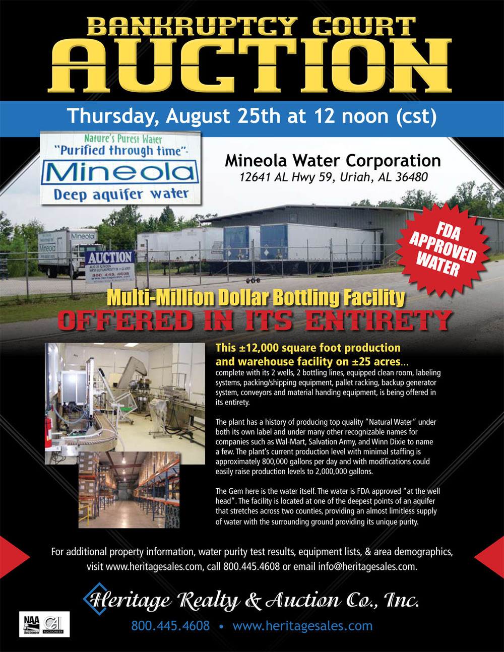 Mineola Water Corp