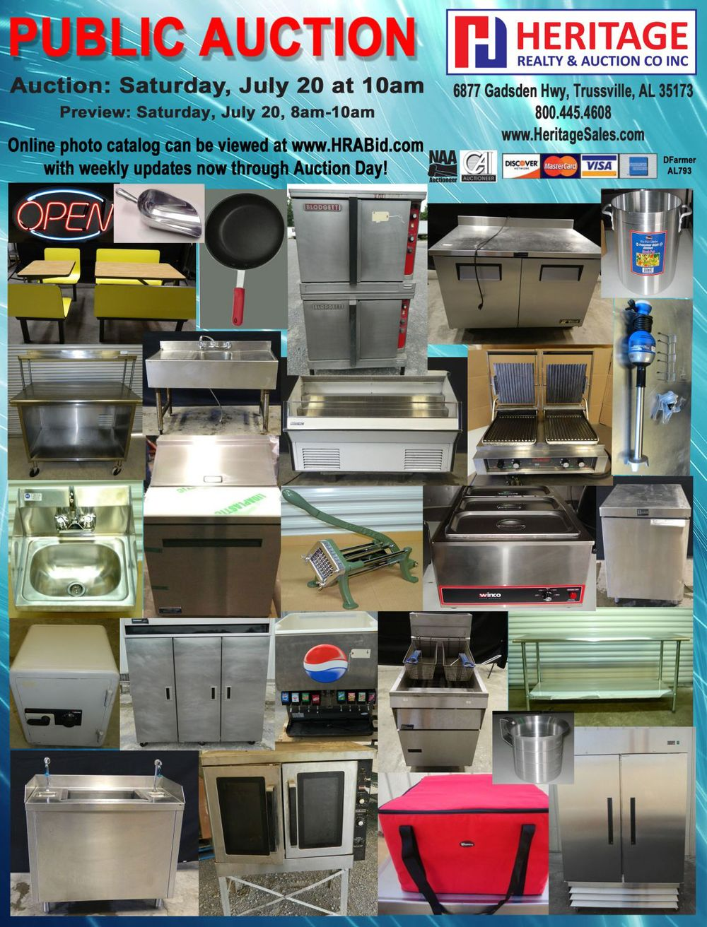 Restaurant Equipment & Smallwares