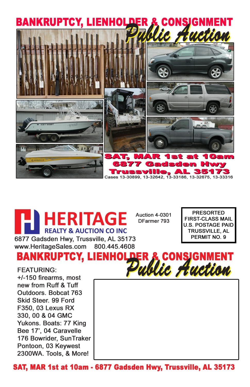 Bankruptcy, Lienholder & Consignment