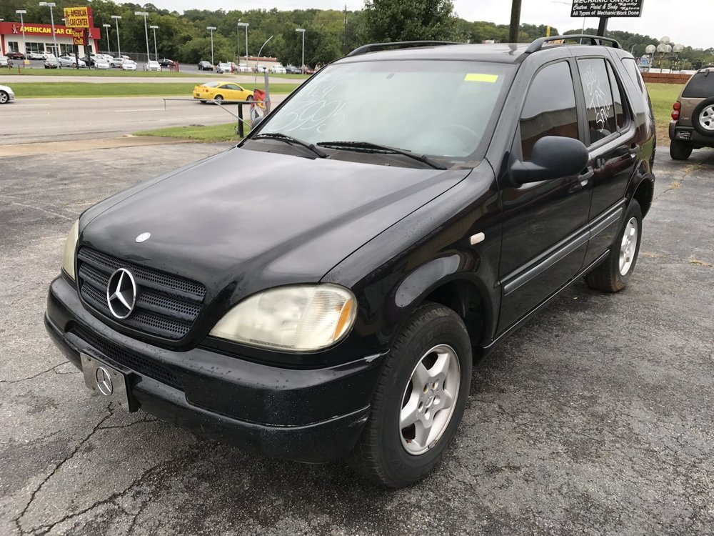 Click to View! Lot 45 - 1998 Mercedes ML320