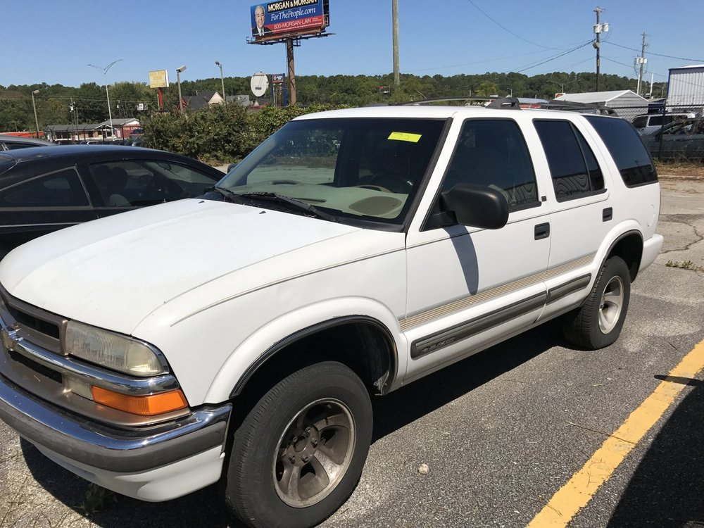 Click to View! Lot 12 - 2001 Chevy Blazer