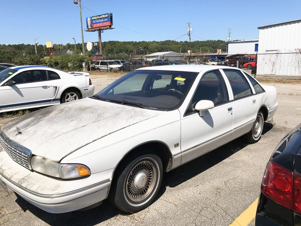 Click to View! Lot 17 - 1994 Chevy Caprice