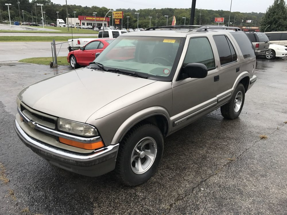 Click to View! Lot 34 - 1999 Chevy Blazer