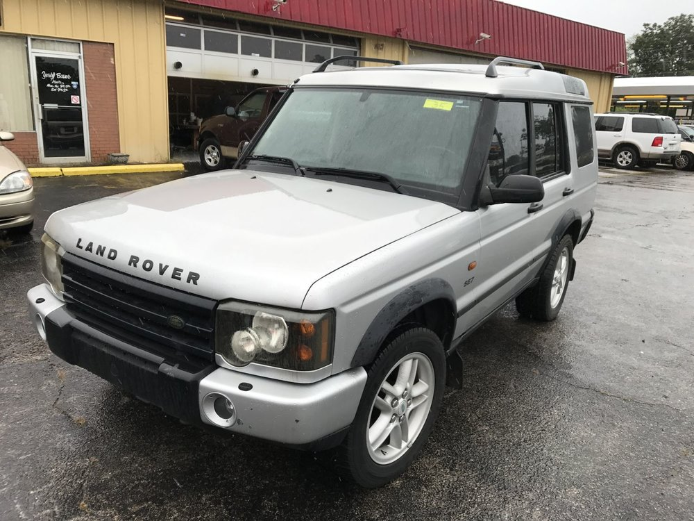 Click to View! Lot 35 - 2003 LandRover Discovery