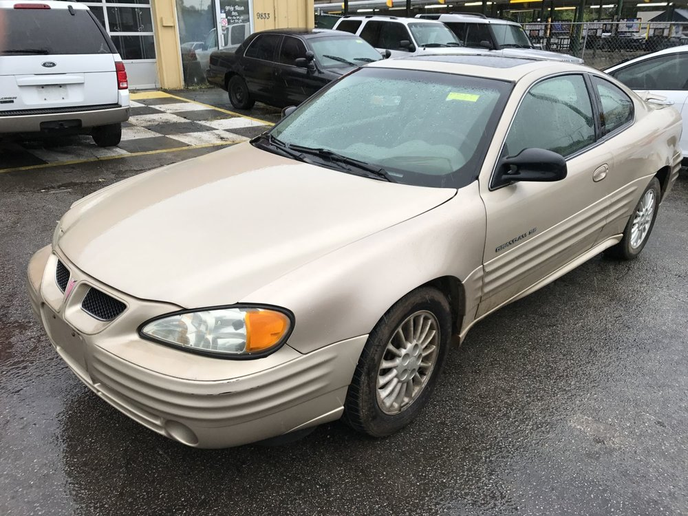 Click to View! Lot 38 - 2001 Pontiac Grand Am