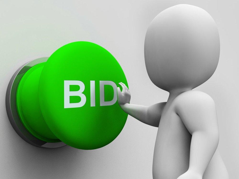 Bid Online - Coming Soon!