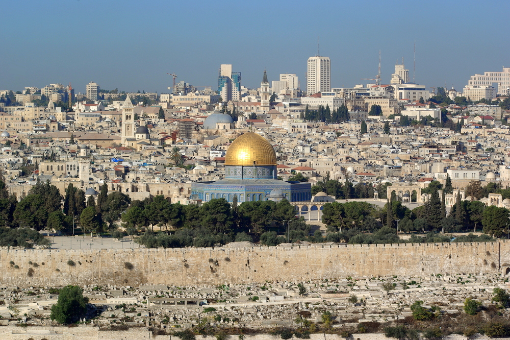 The City of Jerusalem from the Mount of Olives