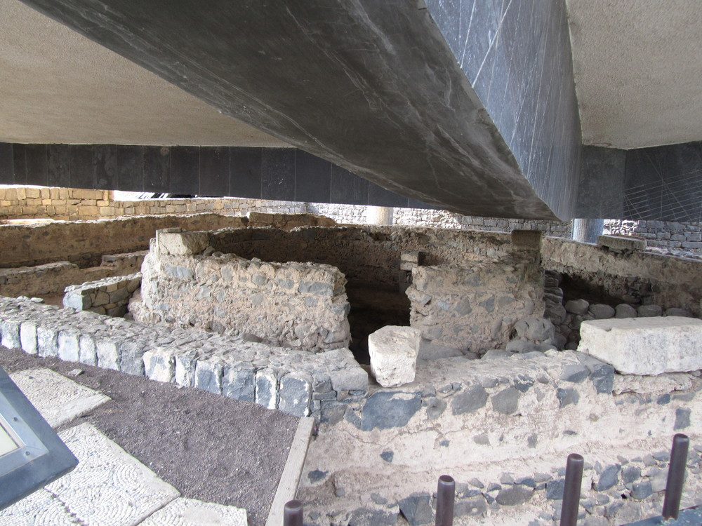 The foundations of the house of Peter and Andrew where Jesus formed a new kind of extended family on mission