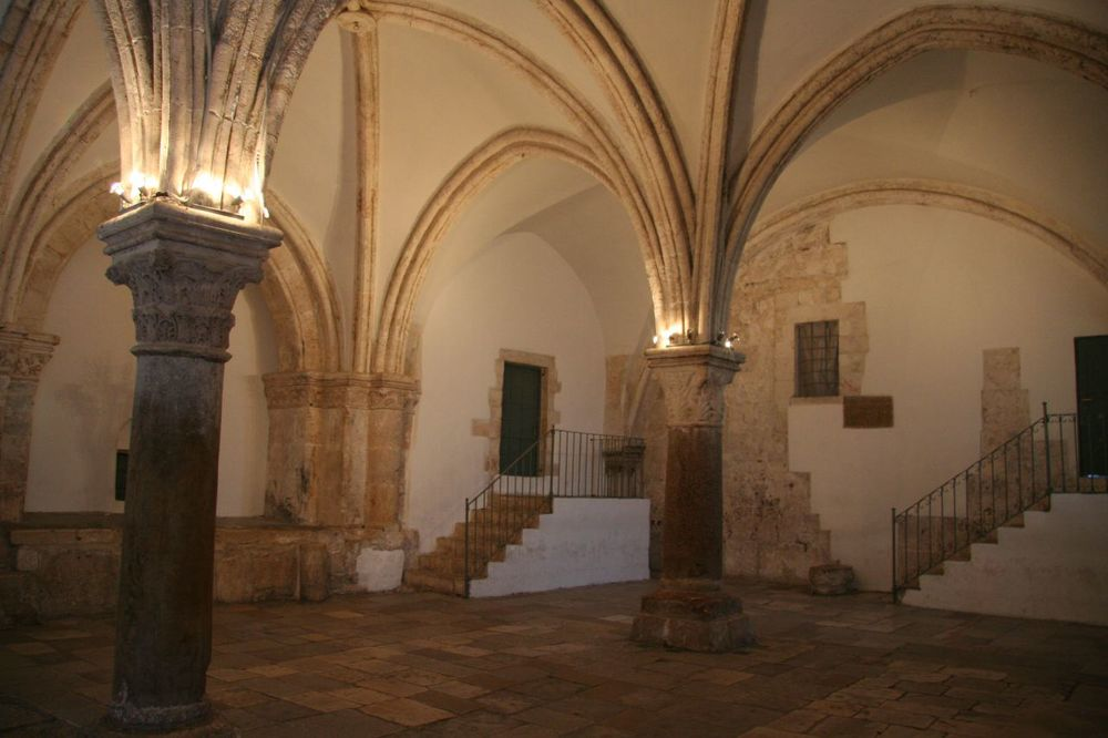 The Upper Room, site of the Last Supper and the pouring out of the Holy Spirit on Pentecost