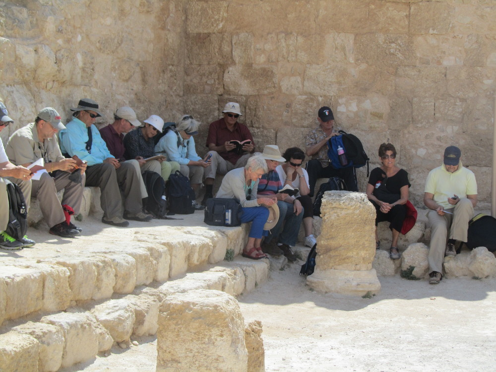 Reflecting on True Authority and Power in the Herodium Synagogue