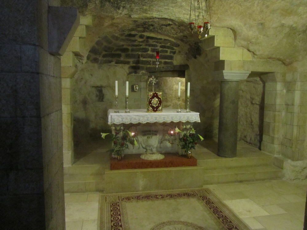 The Ancient Grotto Preserving the Remains of Jesus' Boyhood Home