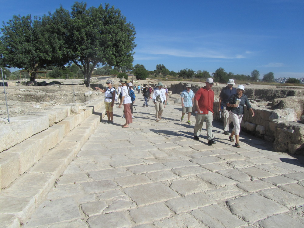 Walking the  Ancient Streets of Sepphoris