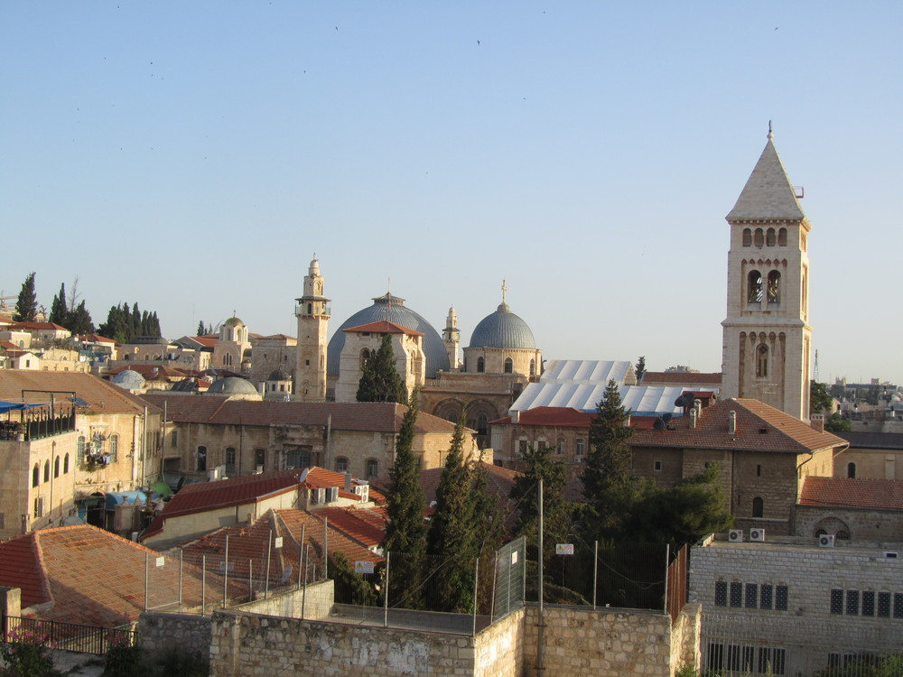 The Church of the Holy Sepulcher and Church of the Redeemer in the Old City of Jerusalem