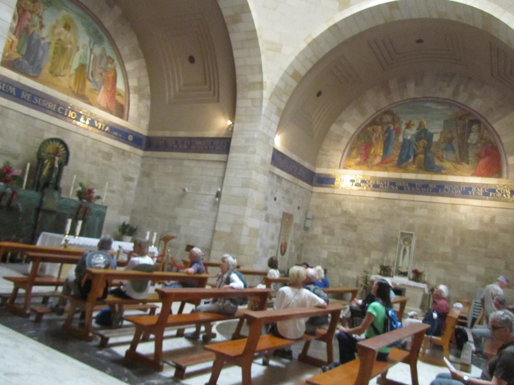 The Church of Mary, Martha, and Lazarus in Bethany