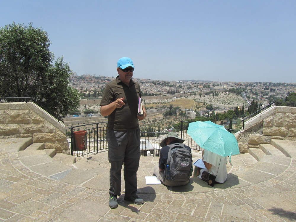 Malcolm Potts Bring God's Word to Us on the Mount of Olives