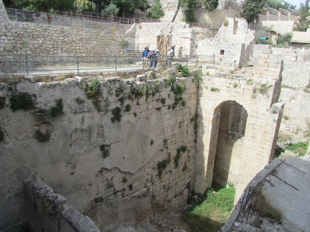 The North End of the Southern Pool of Bethesda