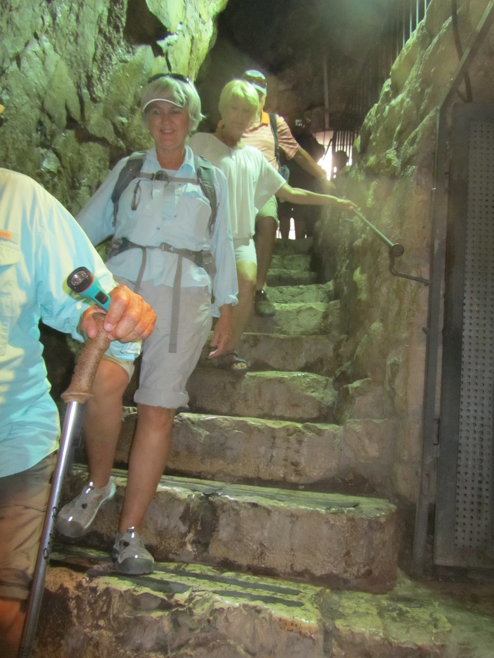 Descending into Warren's Shaft and Hezekiah's Tunnel