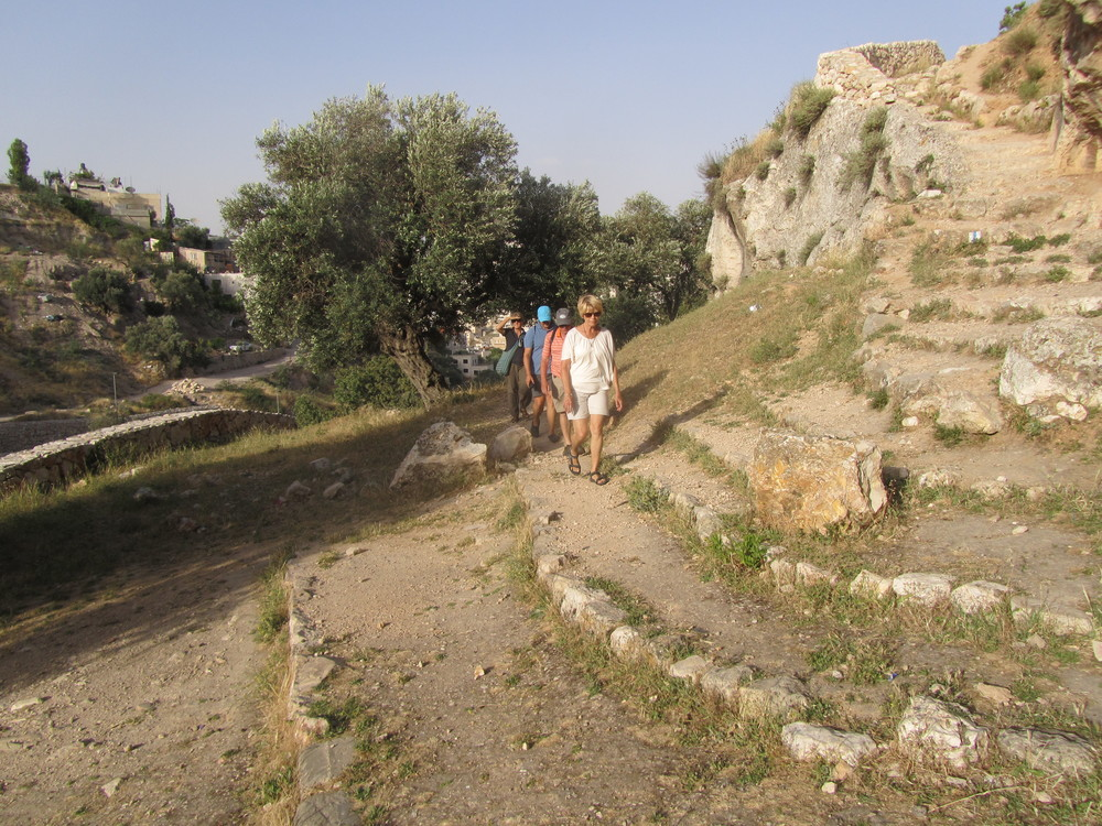 Hiking Through the Hinnom Valley Past the Potter's Field