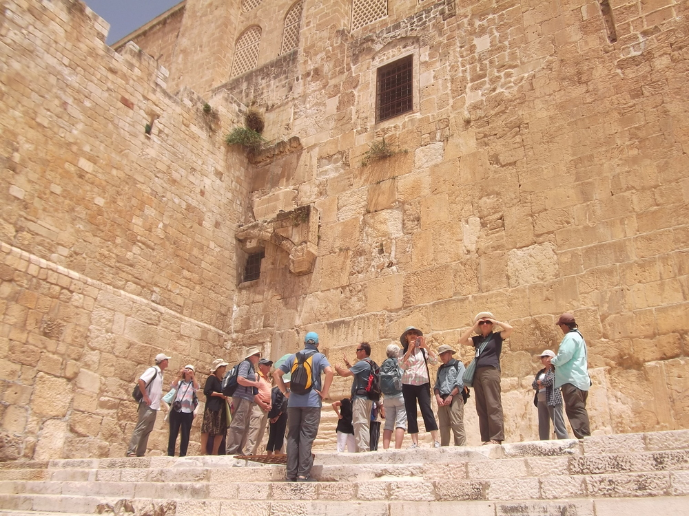 On Steps from the Time of Jesus at the Southern Gates of the Temple