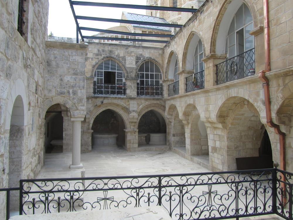The Armenian Orthodox Courtyard of the House of Caiaphas