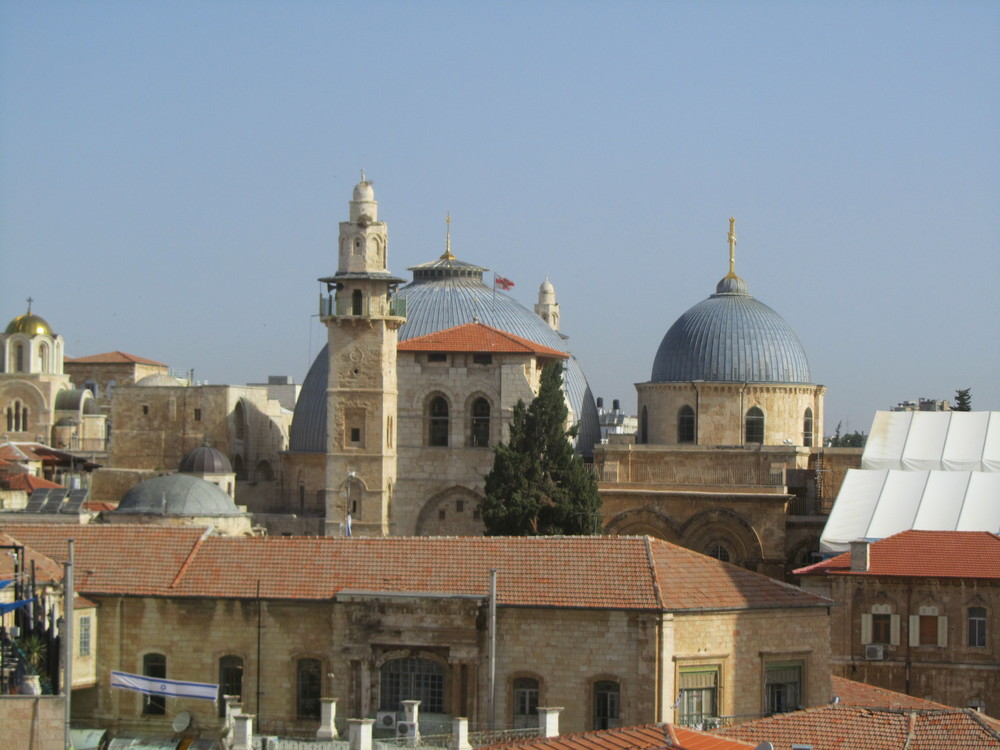 The Church of the Holy Sepulcher, Site of Jesus' Death and Resurrection