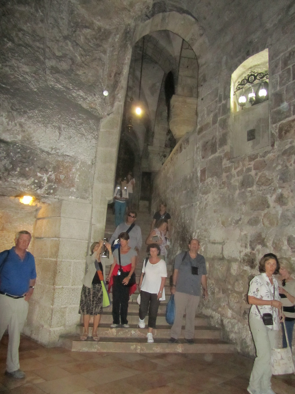Exploring an Ancient Cistern Underneath the Original Constantinian Holy Sepulcher