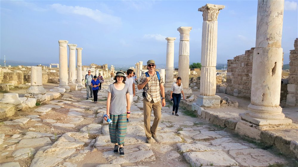 Walking the streets of ancient Laodicea