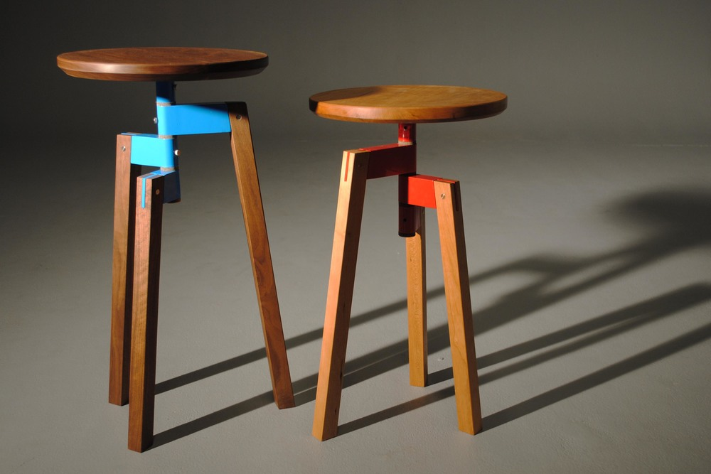Collapsible stool/tables