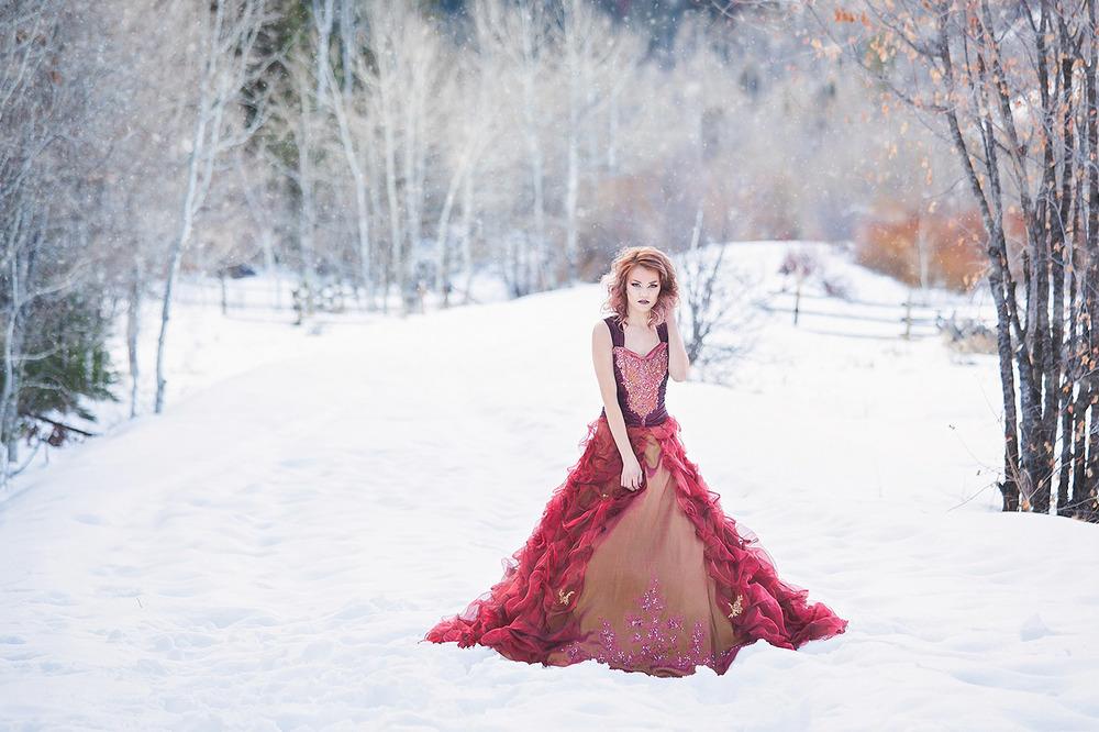 Winter Wonderland || Logan Ut Portrait Photographer — Heidi Randall ...