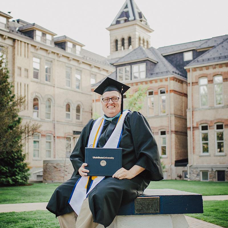 Usu Graduation 2020.Jon Graduate Utah State University Graduation