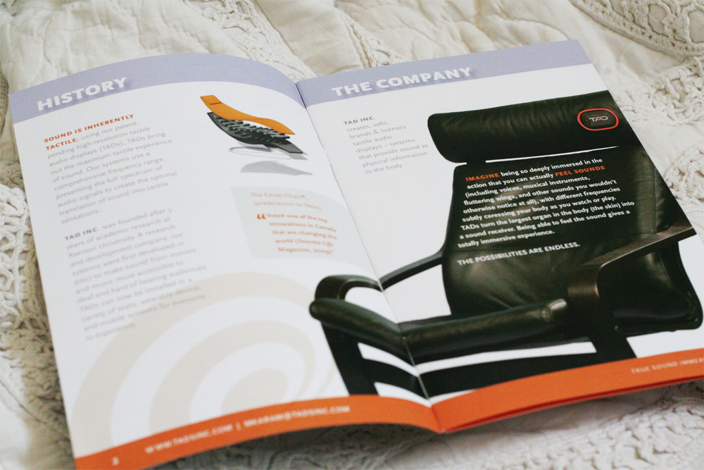 Layout, design and copy editing of 8 page marketing brochure