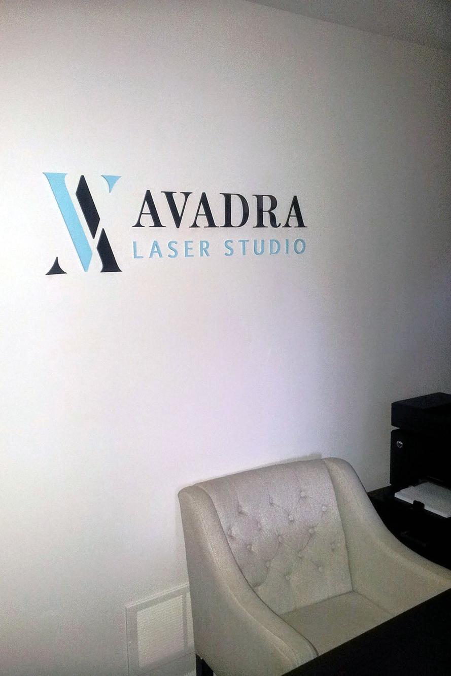 Avadra - Studio Signage