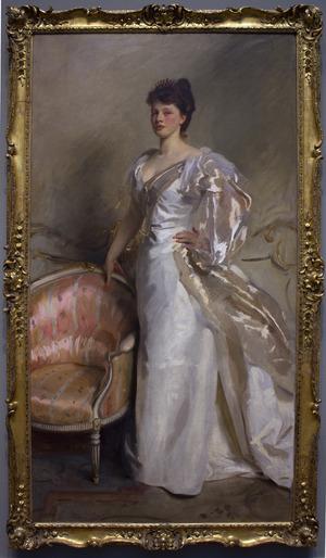 """Mrs. George Swinton (nee Elizabeth """"'Elsie"""" Ebsworth) painted by John Singer Sargent"""