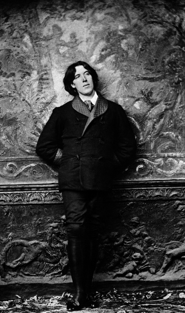 Oscar Wilde photographed by Napoleon Sarony, a series of photos worth seeking out.