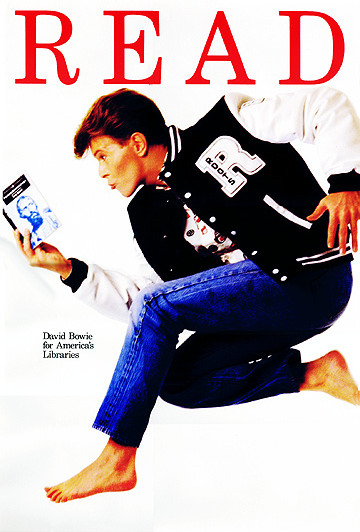 David Bowie endorses reading