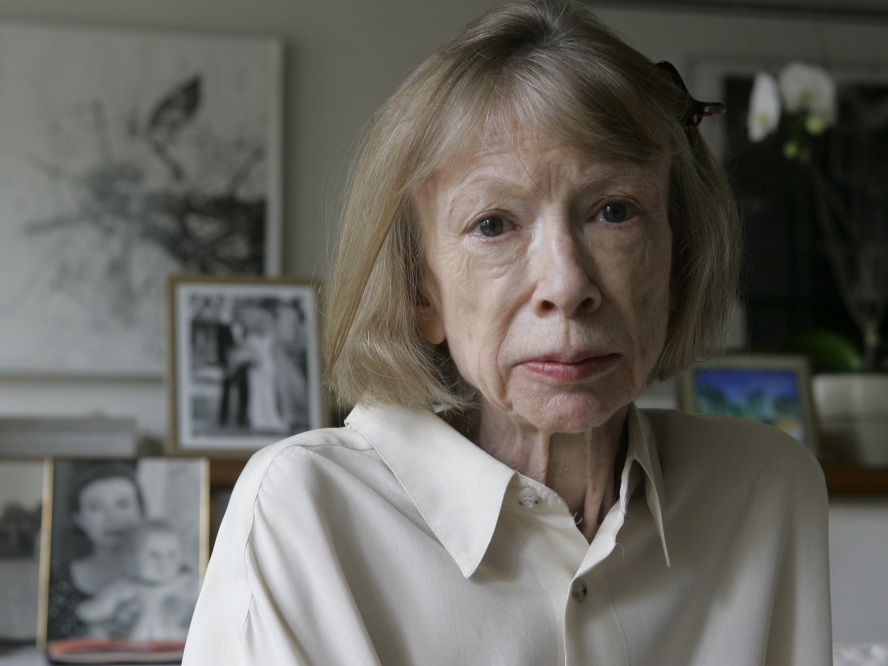 Joan Didion, from an interview on NPR's Fresh Air. Click on the photo to listen.