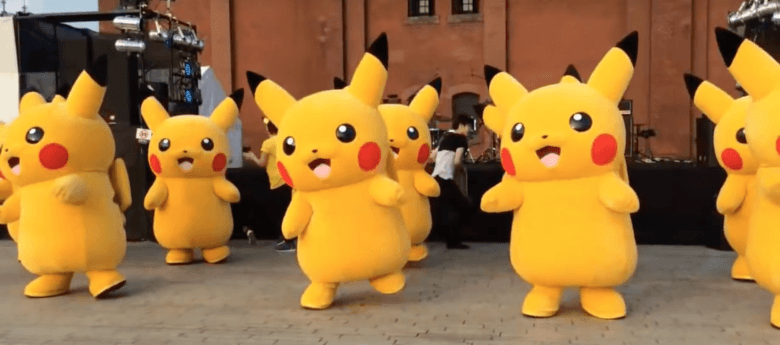 Photo: Yokohama's Pokémon Festival