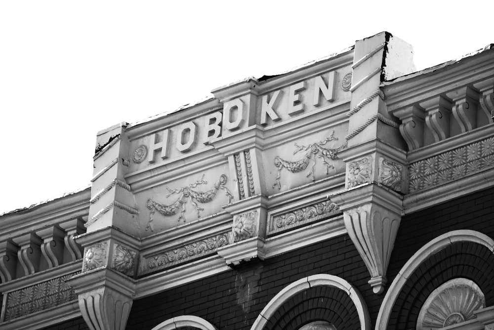 Black and White Hoboken Photography